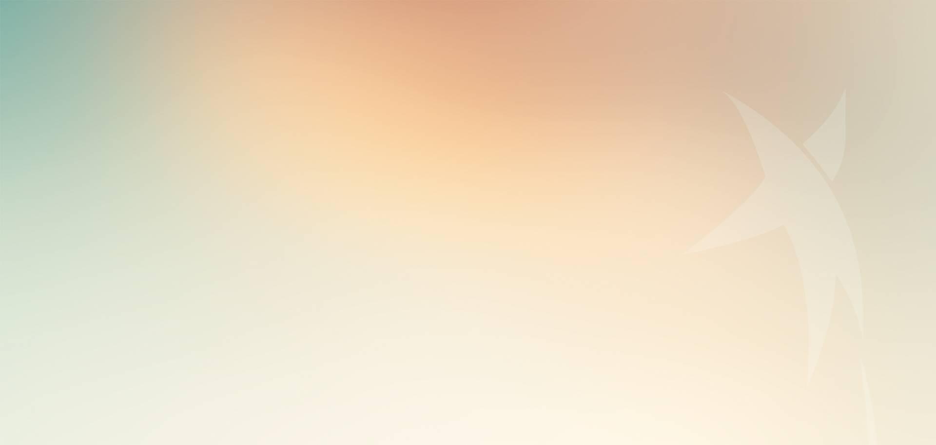 Fundo gradiente com uma estrela translúcida